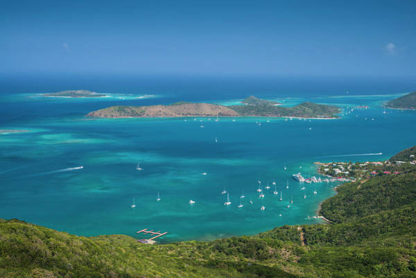 Fanny Photograph - British Virgin Islands, Virgin Gorda by Walter Bibikow
