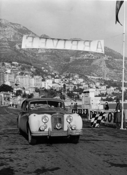 Rally Car Wall Art - Photograph - Britons Placed by Quinn