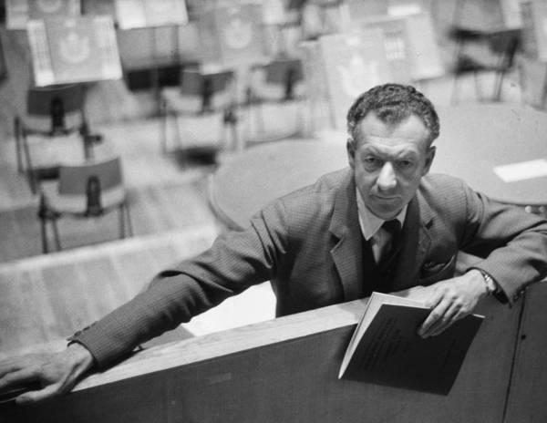 Photograph - Brittens Voices by Erich Auerbach