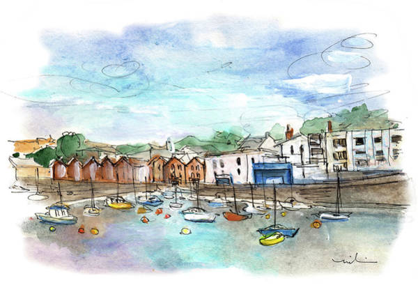 Painting - Brixham 04 by Miki De Goodaboom
