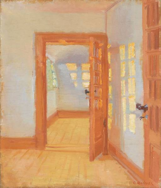 Wall Art - Painting - Brndums Annex  by Anna Ancher