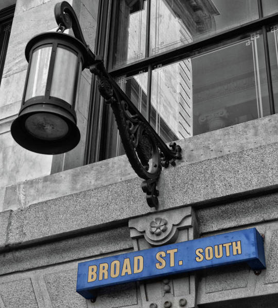 Photograph - Broad St South by Bill Cannon