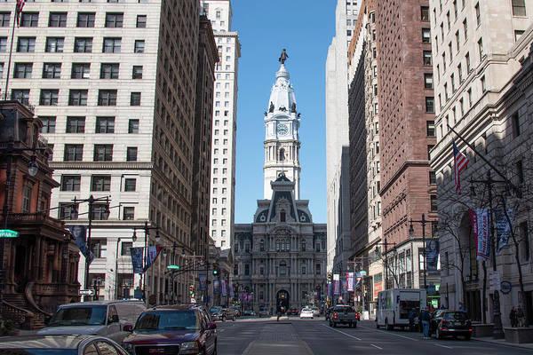 Wall Art - Photograph - Broad Street - Philadelphia - City Hall by Bill Cannon