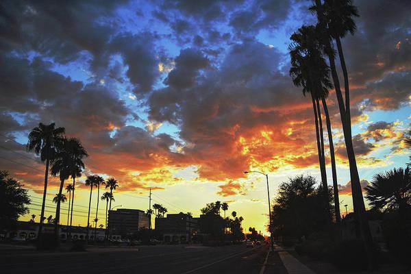 Photograph - Broadway Boulevard Sunset by Chance Kafka