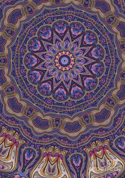 Wall Art - Digital Art - Brocade 13 by John Edwards