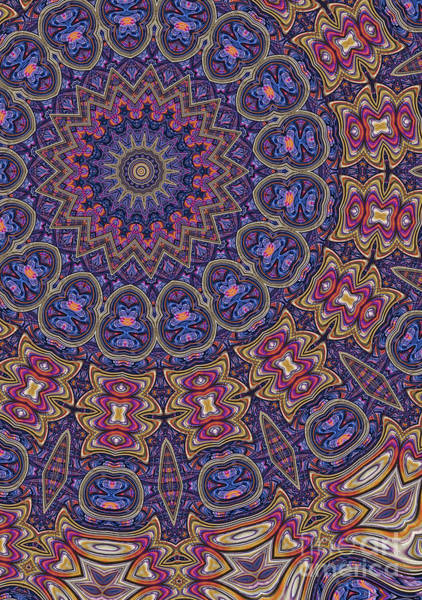 Wall Art - Digital Art - Brocade 17 by John Edwards