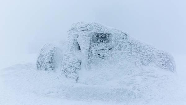 Photograph - Brocken Summit Stone, Harz by Andreas Levi