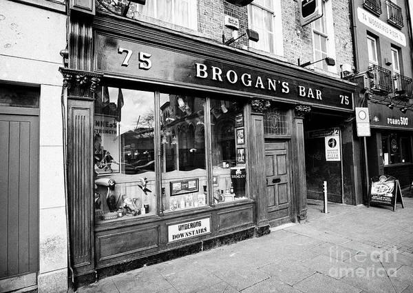 Wall Art - Photograph - Brogans Bar Dublin Dublin Republic Of Ireland Europe by Joe Fox