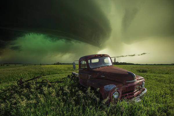 Shelf Cloud Photograph - Broke by Aaron J Groen
