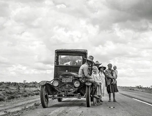 Wall Art - Photograph - Broke Down Texas 1937 by Daniel Hagerman