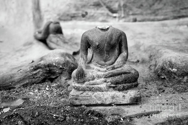 Wall Art - Photograph - Broken Buddha Vi by Dean Harte