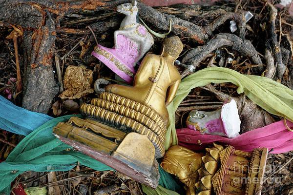 Wall Art - Photograph - Broken Buddha Vii by Dean Harte
