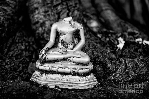 Wall Art - Photograph - Broken Buddha V by Dean Harte
