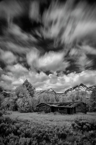Photograph - Broken House In The Tetons by Jon Glaser