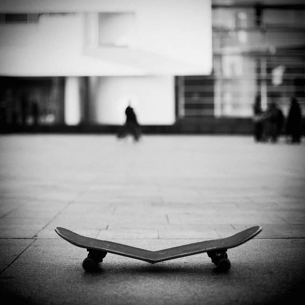 Skateboard Photograph - Broken Skate by Salva López Photography