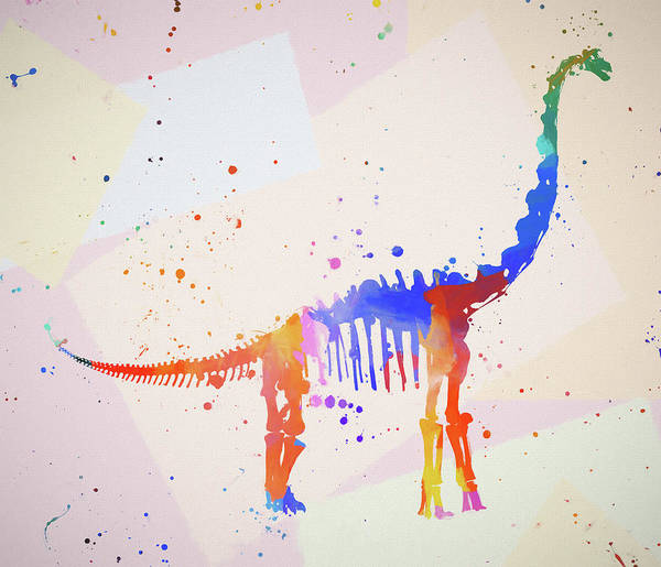 Painting - Brontosaurus by Dan Sproul