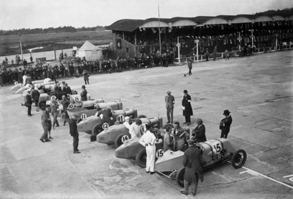 Sport Photograph - Brooklands by Brooke