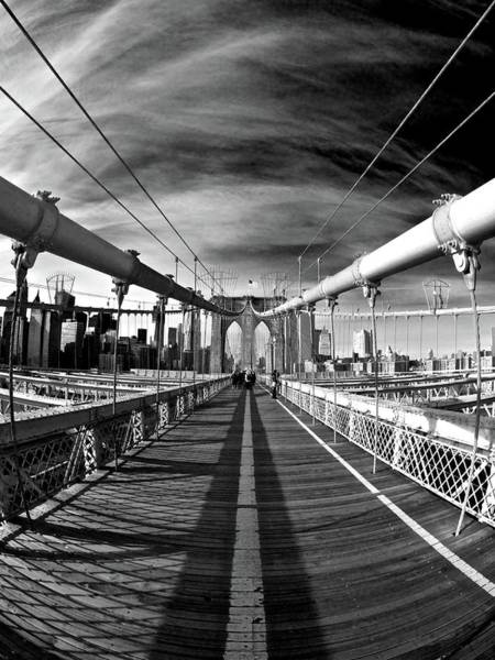 Photograph - Brooklyn Bridge by Ashmieke Creations