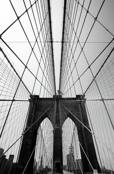 East Side Photograph - Brooklyn Bridge by Blackwaterimages