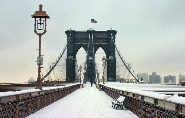 Wall Art - Photograph - Brooklyn Bridge by Copyright By June Marie Sobrito