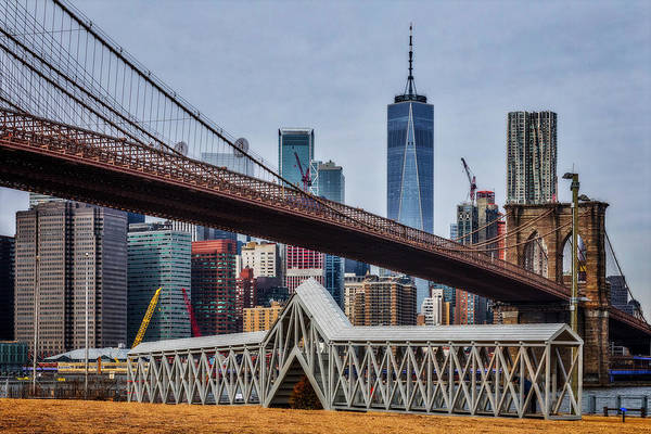 Photograph - Brooklyn Bridge Dumbo Nyc by Susan Candelario