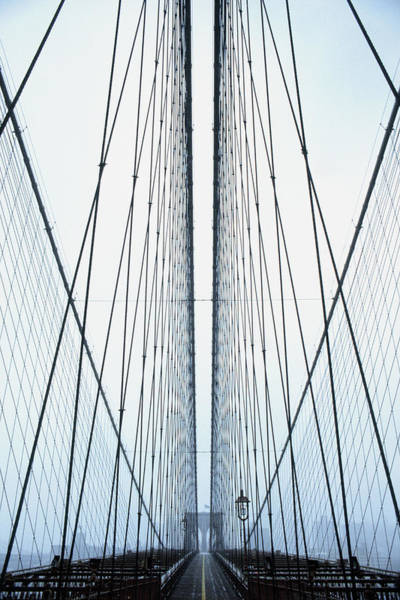 New York State Photograph - Brooklyn Bridge by Eric O'connell