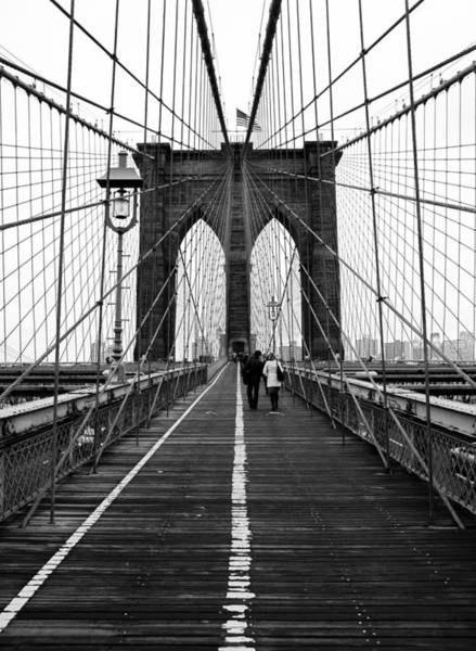 Wall Art - Photograph - Brooklyn Bridge by Justinwaldingerphotography