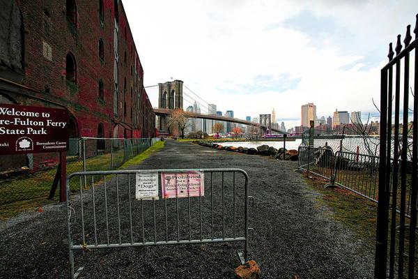 Wall Art - Photograph - Brooklyn Bridge Landscape View  by Chuck Kuhn