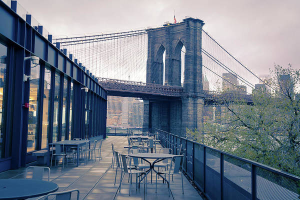 Photograph - Brooklyn Bridge by Marzena Grabczynska Lorenc