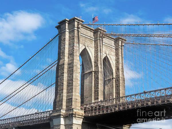 Photograph - Brooklyn Bridge by Robin Zygelman