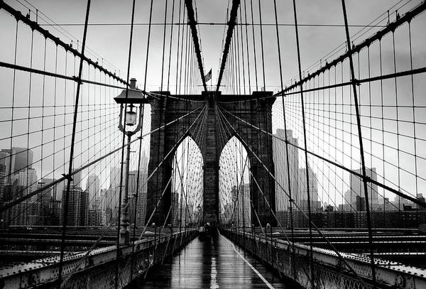 Usa State Photograph - Brooklyn Bridge by Serhio.com Photography By Sergei Yahchybekov