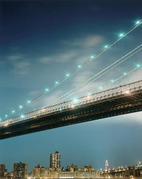 Photograph - Brooklyn Bridge by Silvia Otte