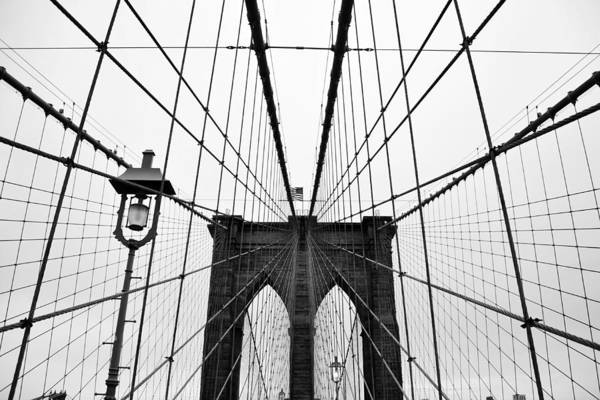 New York City Photograph - Brooklyn Bridge by Thank You For Choosing My Work.