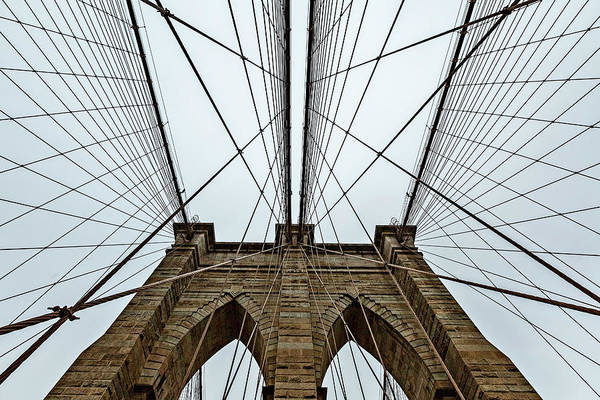 Photograph - Brooklyn Bridge Website by Kay Brewer