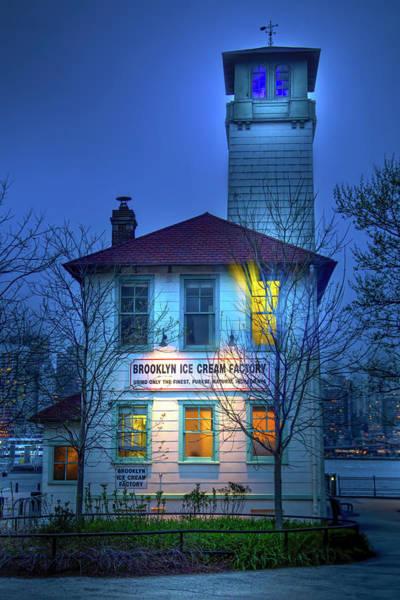 Fireboat Wall Art - Photograph - Brooklyn Ice Cream Factory by Mark Andrew Thomas