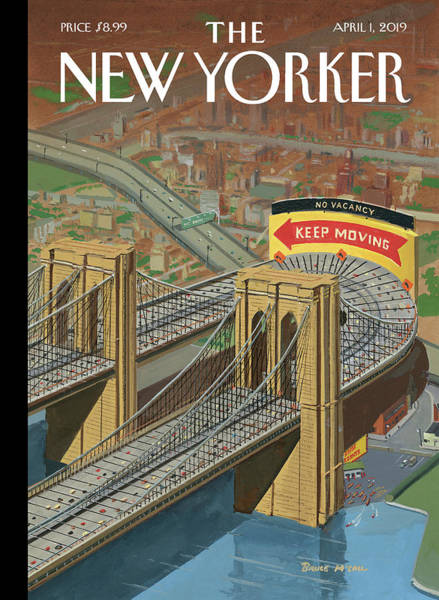 Painting - Brooklyn Or Bust by Bruce McCall
