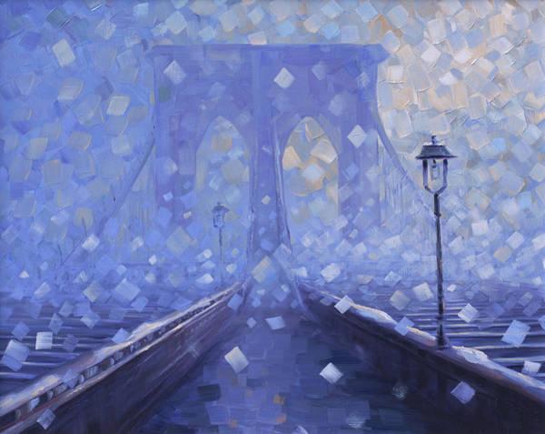 Painting - Brooklyn Silence by Rob Buntin