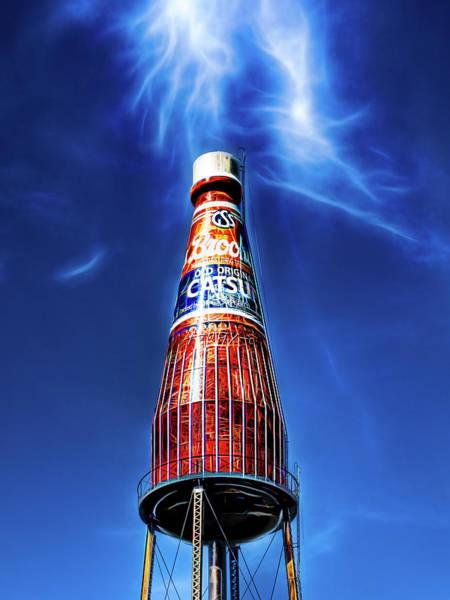 Photograph - Brooks Catsup Bottle Water Tower by Robert FERD Frank