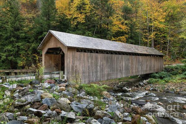 Wall Art - Photograph - Brown Covered Bridge by John Greim