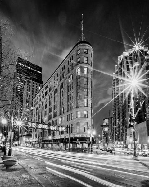 Wall Art - Photograph - Brown Palace Traffic by Stephen Stookey
