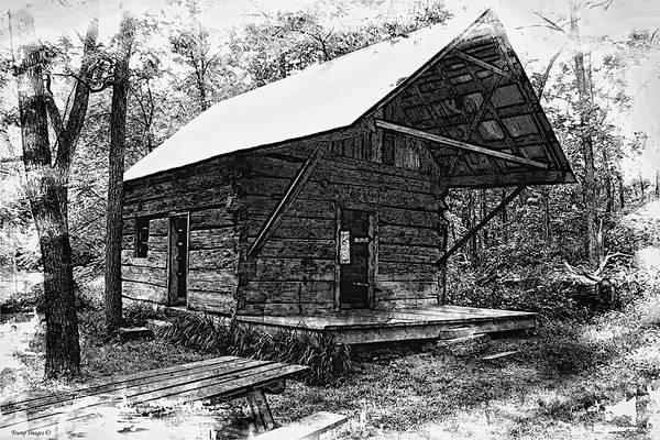 Digital Art - Browns Cabin  by Wesley Nesbitt