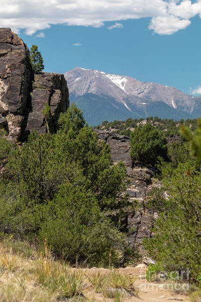 Photograph - Brown's Canyon And The Collegiate Peaks by Steve Krull