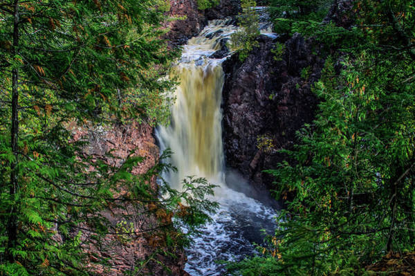 Brownstone Falls Art Print