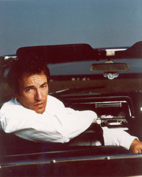 Wall Art - Photograph - Bruce Springsteen In Convertible by Hulton Archive