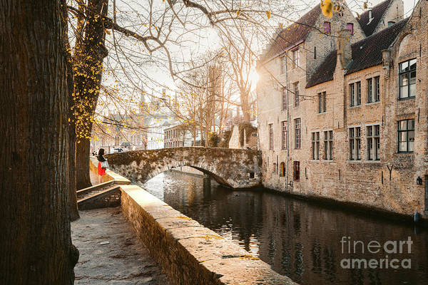 Wall Art - Photograph - Brugge Sunsets by JR Photography