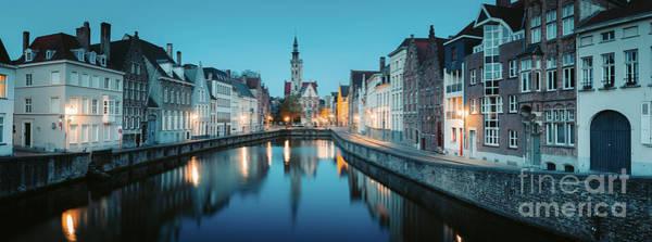 Wall Art - Photograph - Brugge Twilight Magic by JR Photography