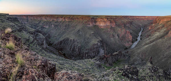 Photograph - Bruneau Canyon View Panoramic by Leland D Howard