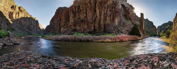 Photograph - Bruneau River Bend by Leland D Howard