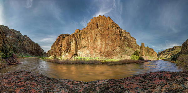 Photograph - Bruneau River Idaho by Leland D Howard