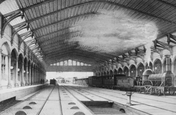 Elizabethan Wall Art - Photograph - Brunels Station by Edward Gooch Collection